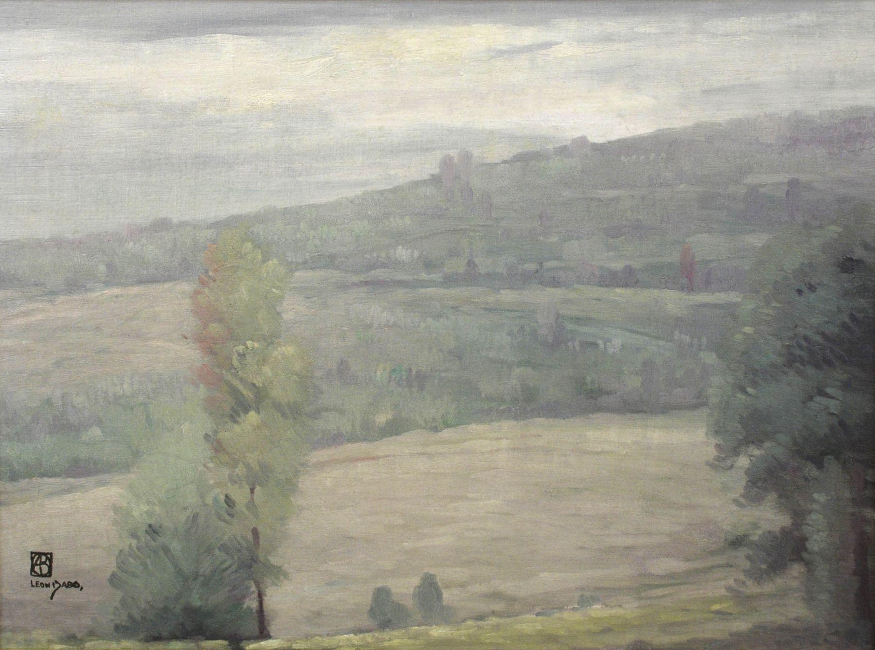 Leon Dabo, Fog and Hills, c 1900