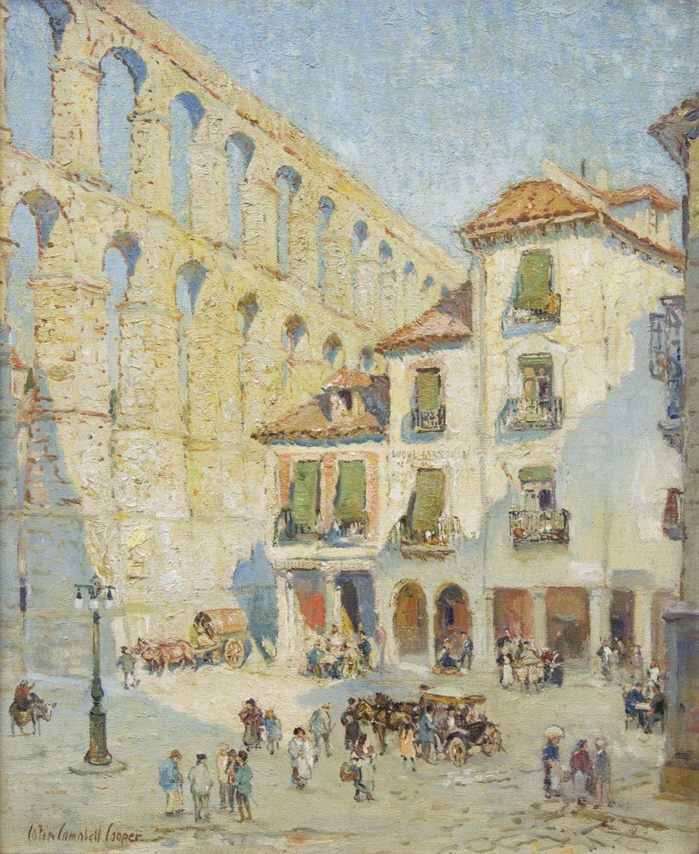 Colin Campbell Cooper (1856-1937), Segovia Spain