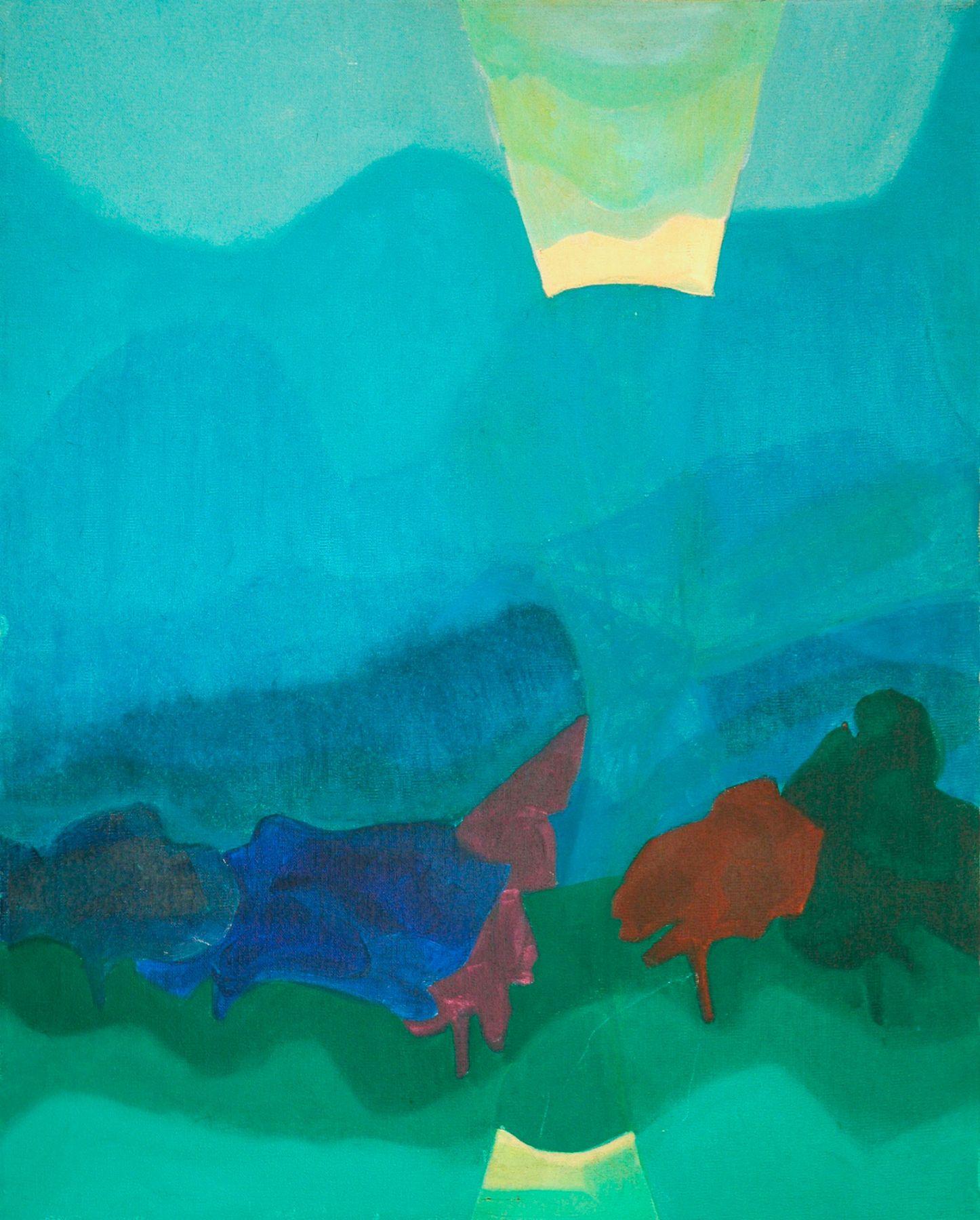ANYA FISHER (1905-1992), Sunrise Over Blue Hills