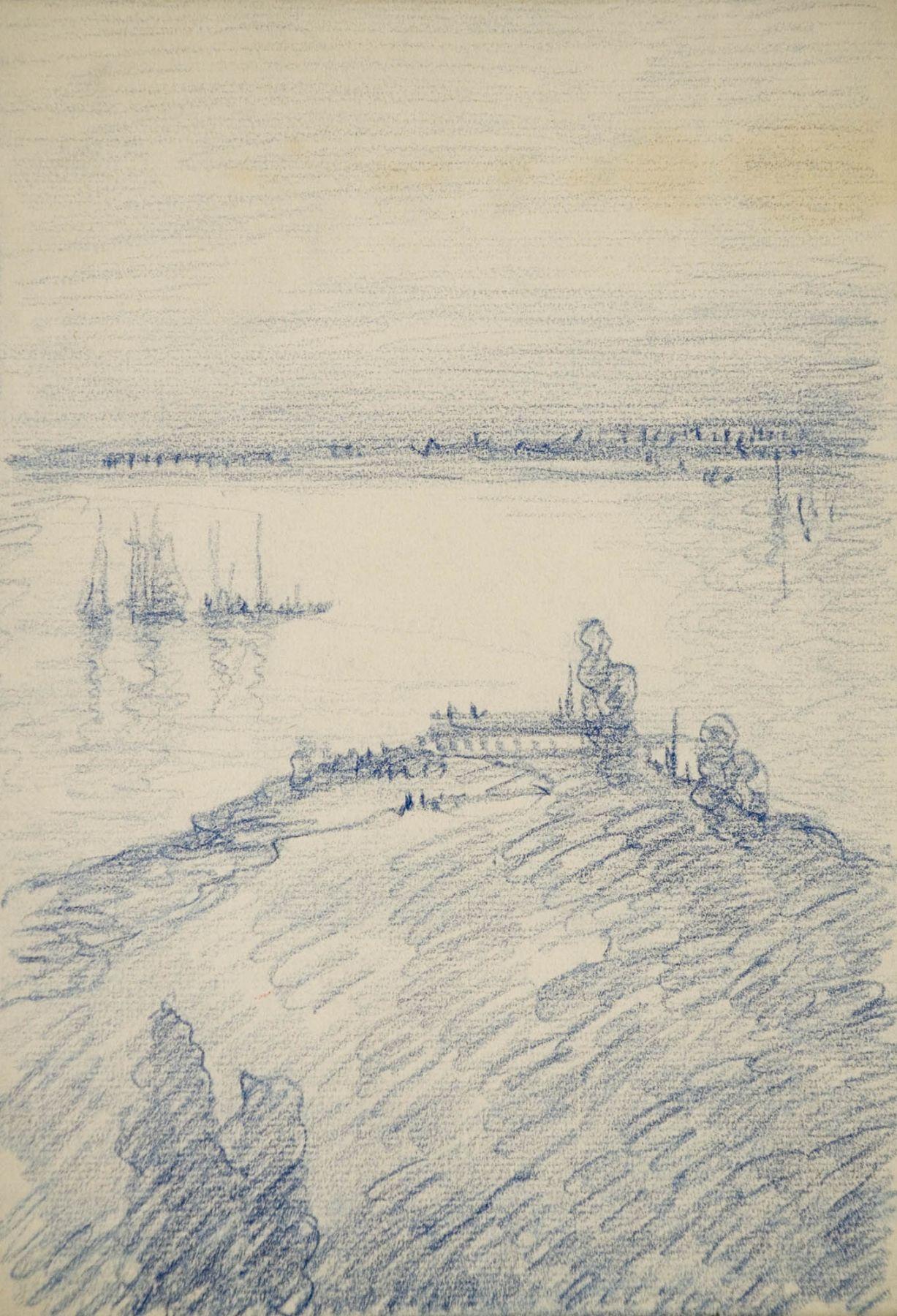 Leon Dabo, Water's Edge, ND