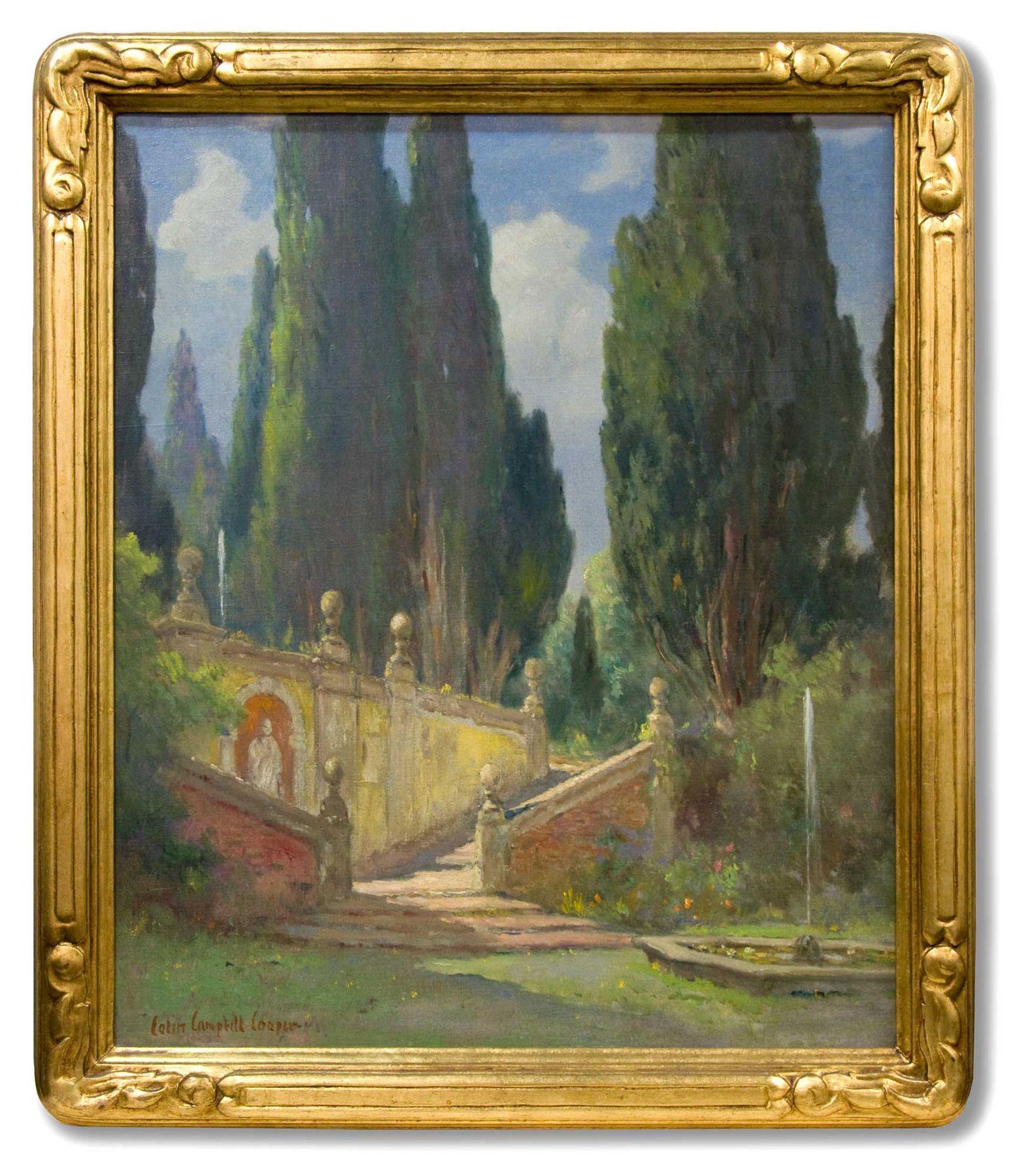 Colin Campbell Cooper - Medici Villa