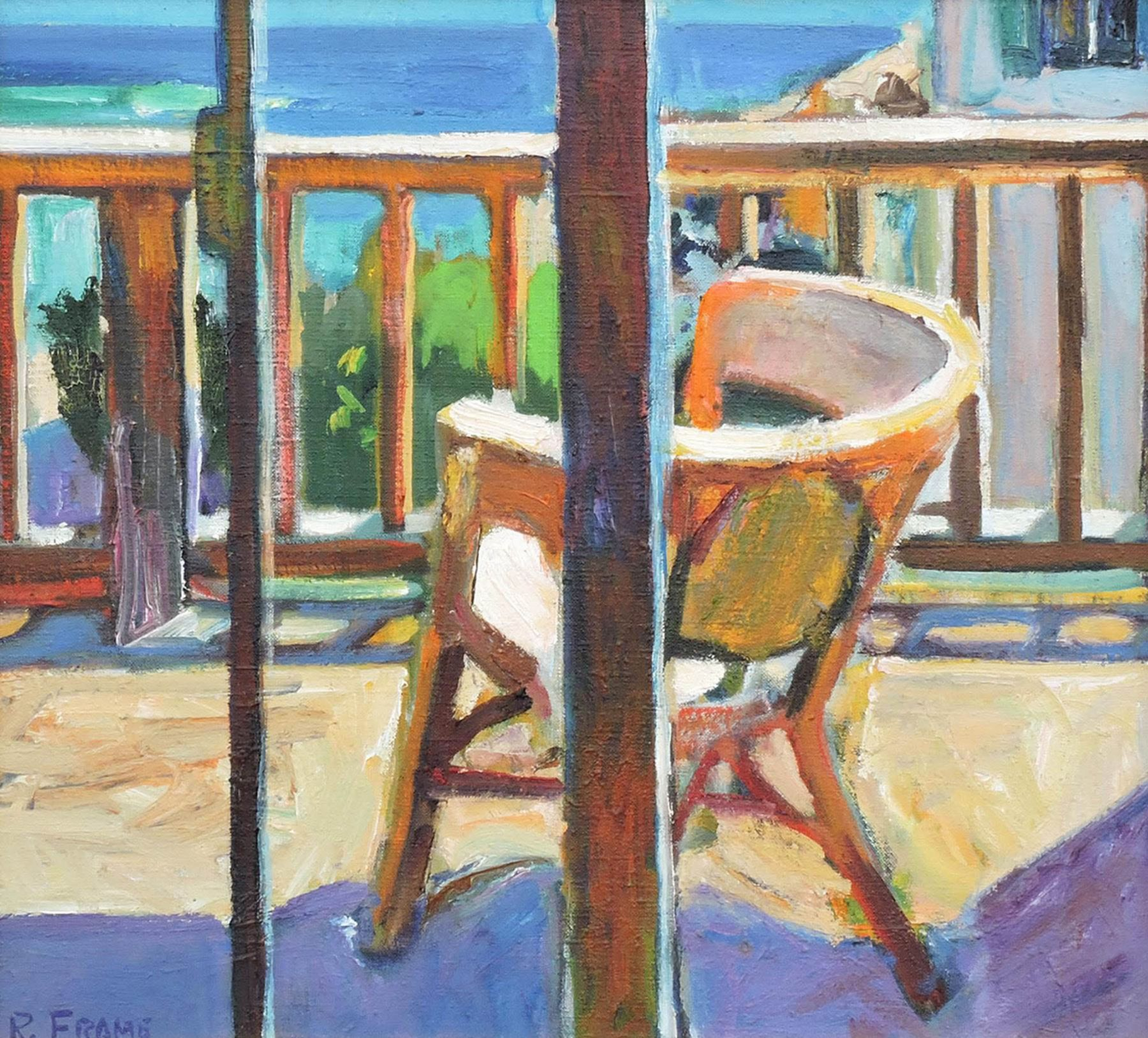 Robert Frame, Chair on the Balcony