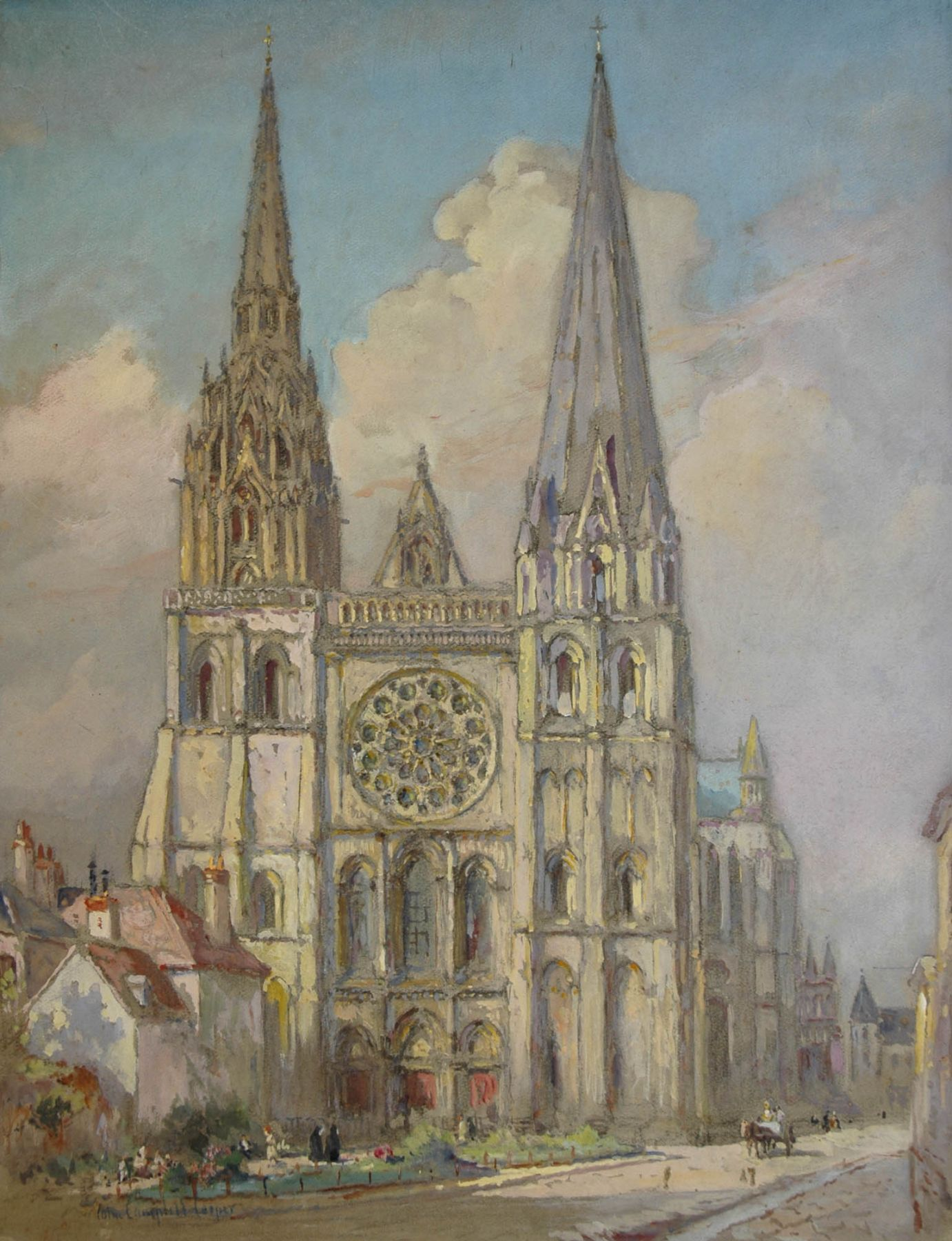 Colin Campbell Cooper, Chartres Cathedral