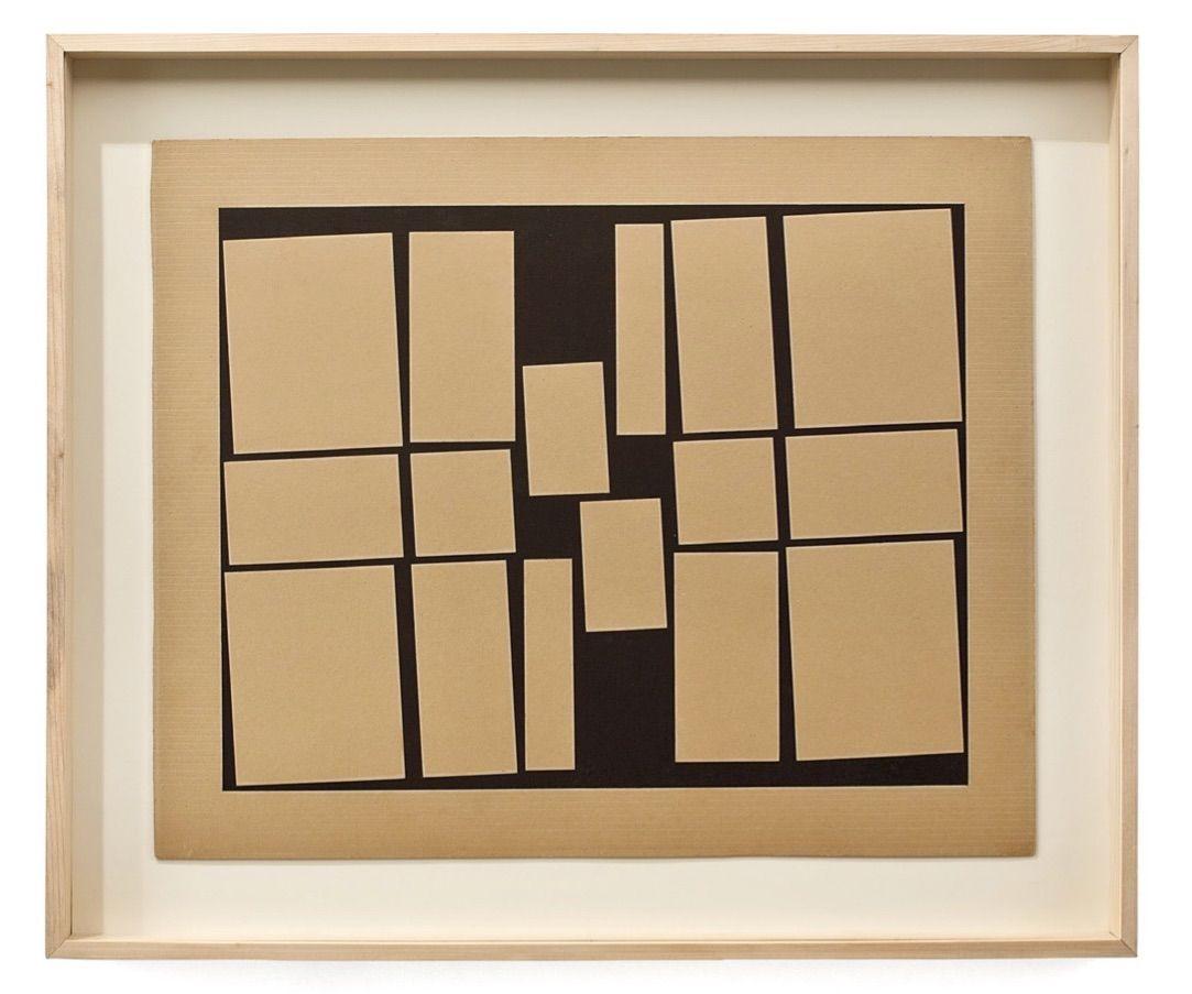 Helio Oiticica,Metaesquema, 1957,Gouache on cardboard,20 1/16 x 24 9/16 in. (51 x 62.5 cm.)