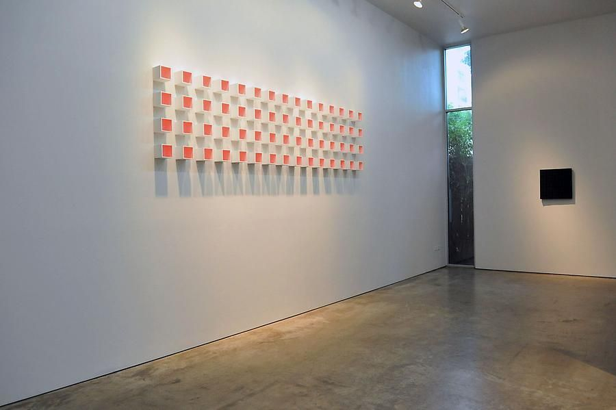Luis Tomasello, Sicardi Gallery installation view, 2011