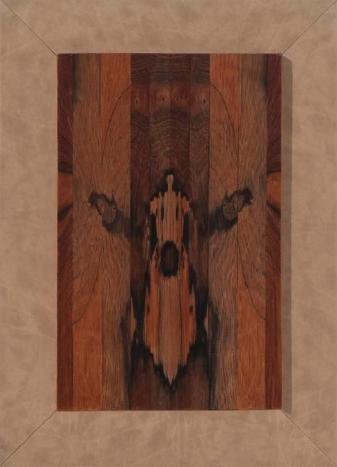 Abraham Palatnik, Untitled, 1971.  Jacaranda wood, 15 1/8 x 9 1/2 in. / 38.4 x 24.1 cm.