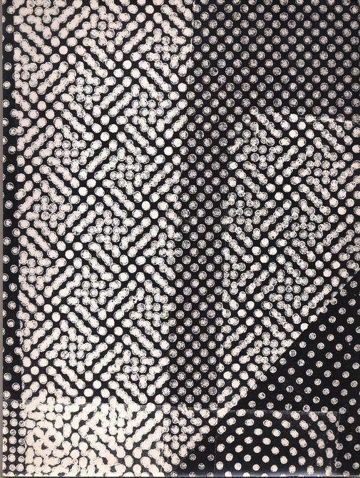 From de series Cosmos, c. 1964-1965. Photogram. 9 1/2 x 7 1/8 in. (24.1 x 18.1 cm.)