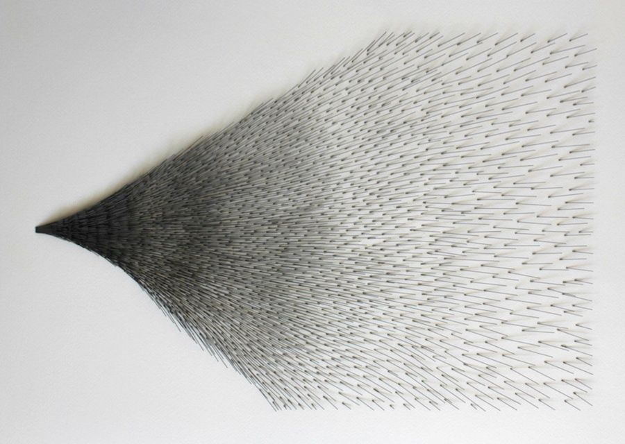 Mariano Dal Verme, Untitled, 2013. Graphite, paper, 21 1/4 in. x 29 1/8 in.