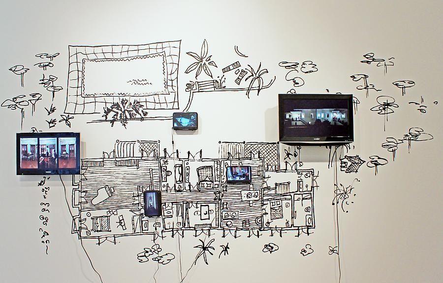 Dias & Riedweg, A Casa / The House, Sicardi Gallery installation view, 2011