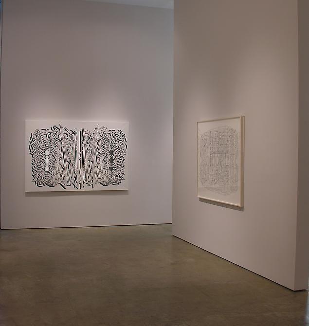 Pablo Siquier, Sicardi Gallery installation view, 2008