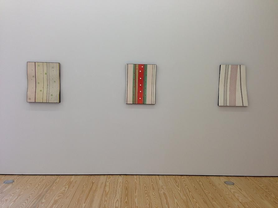 Carmelo Arden Quin, Paintings, Collages, Mobiles, 1930s to 1970s, Installation view, 2013.