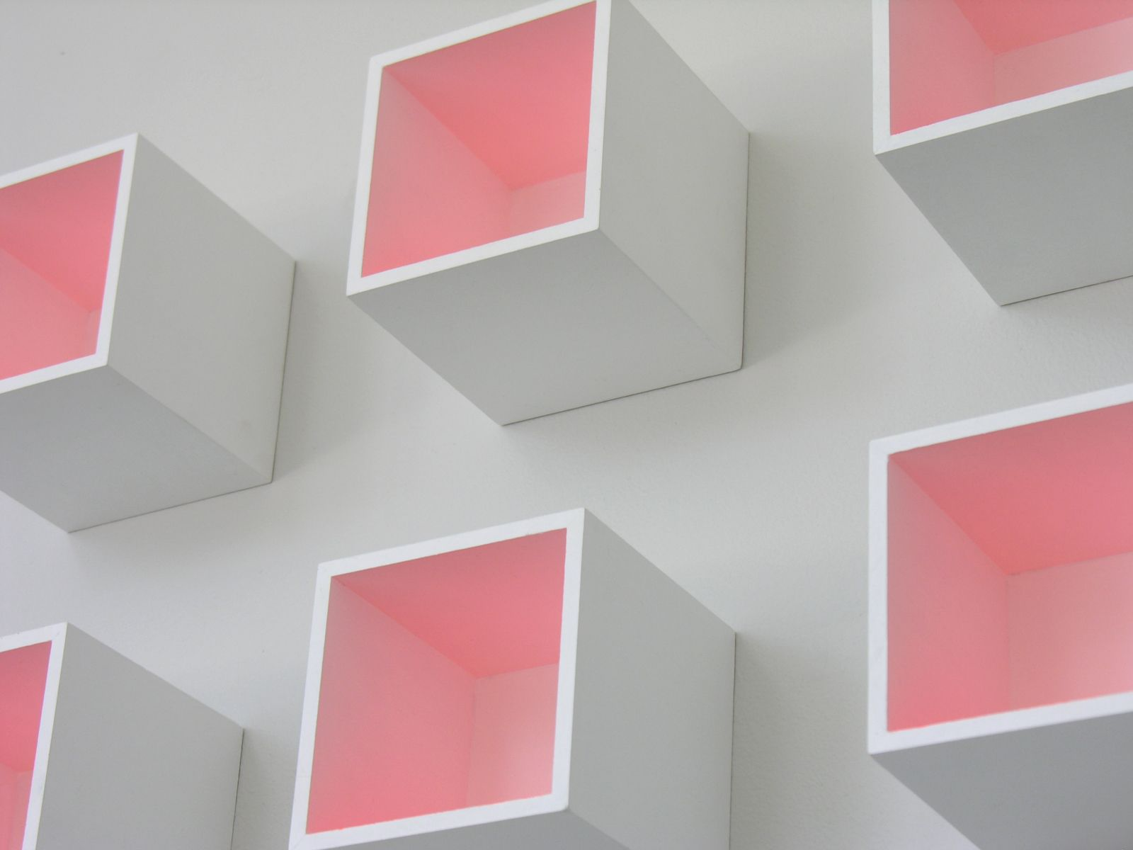 Luis Tomasello, Mural Chromoplastique, 2011 (detail). Acrylic on wood