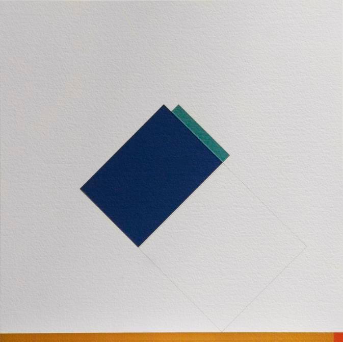 Antonio Lizárraga, Desenho nº 481 - Bases, 1998. Graphite and pigments on Arches paper, 15 3/4 x 15 ¾ in.