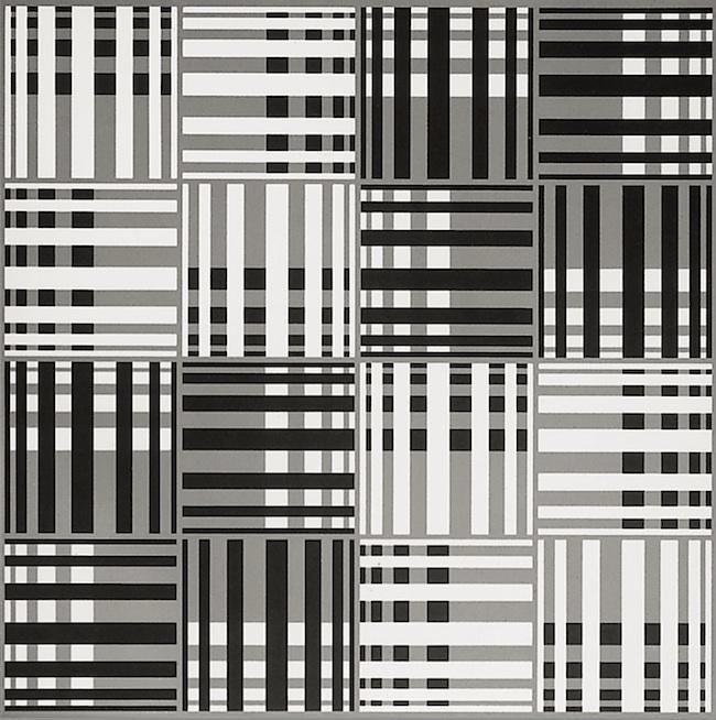 Francisco Sobrino, Untitled, 1969. Ed. 2/150. Serigraph, 30 3/4 in. x 30 3/4 in.