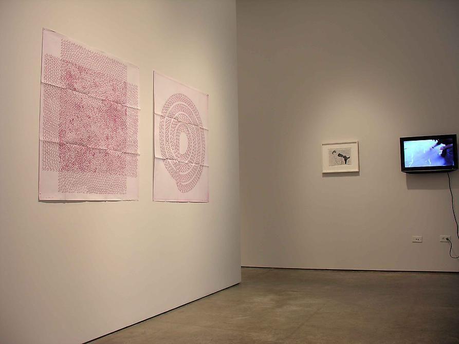 León Ferrari, Luis Roldan, Fabiana Cruz, Sicardi Gallery installation view, 2008