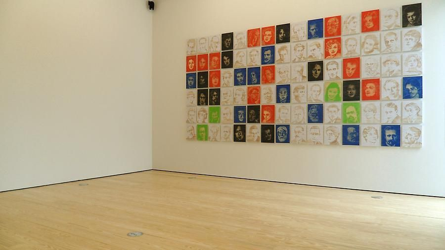 Pedro Tyler, Not Space Nor Time, Installation view, 2012.