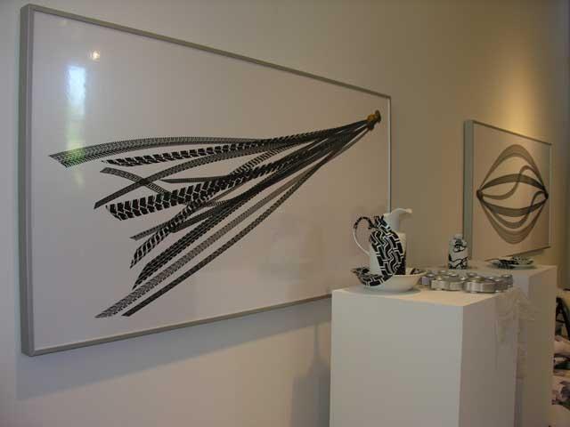 Regina Silveira, Installation view, 2005.