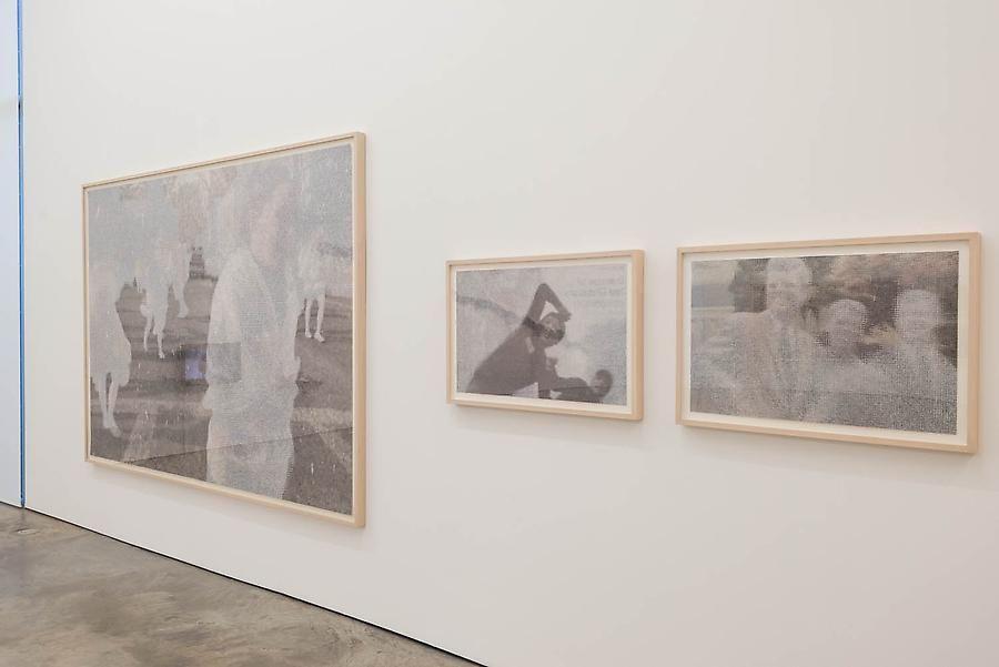 John Sparagana, installation view at Sicardi Gallery, El Cuerpo Sutil, 2014.