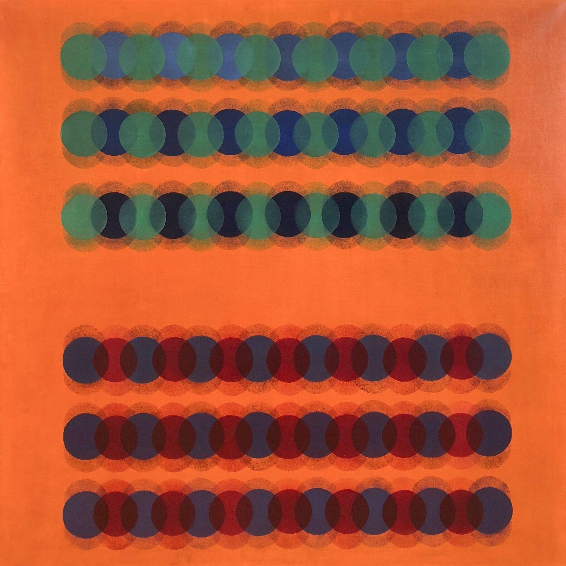 Manuel Espinosa,Almudena, 1966, Oil on canvas,35 3/8 x 35 3/8 in. (90 x 90 cm.)