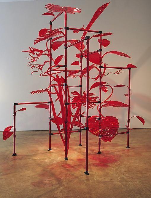 Thomas Glassford, Jungala, 2011, Acrylic, Plexiglas and aluminum, Dimensions Variable