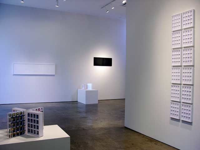 Marco Maggi, From DNA to CNN, Installation view, 2005.
