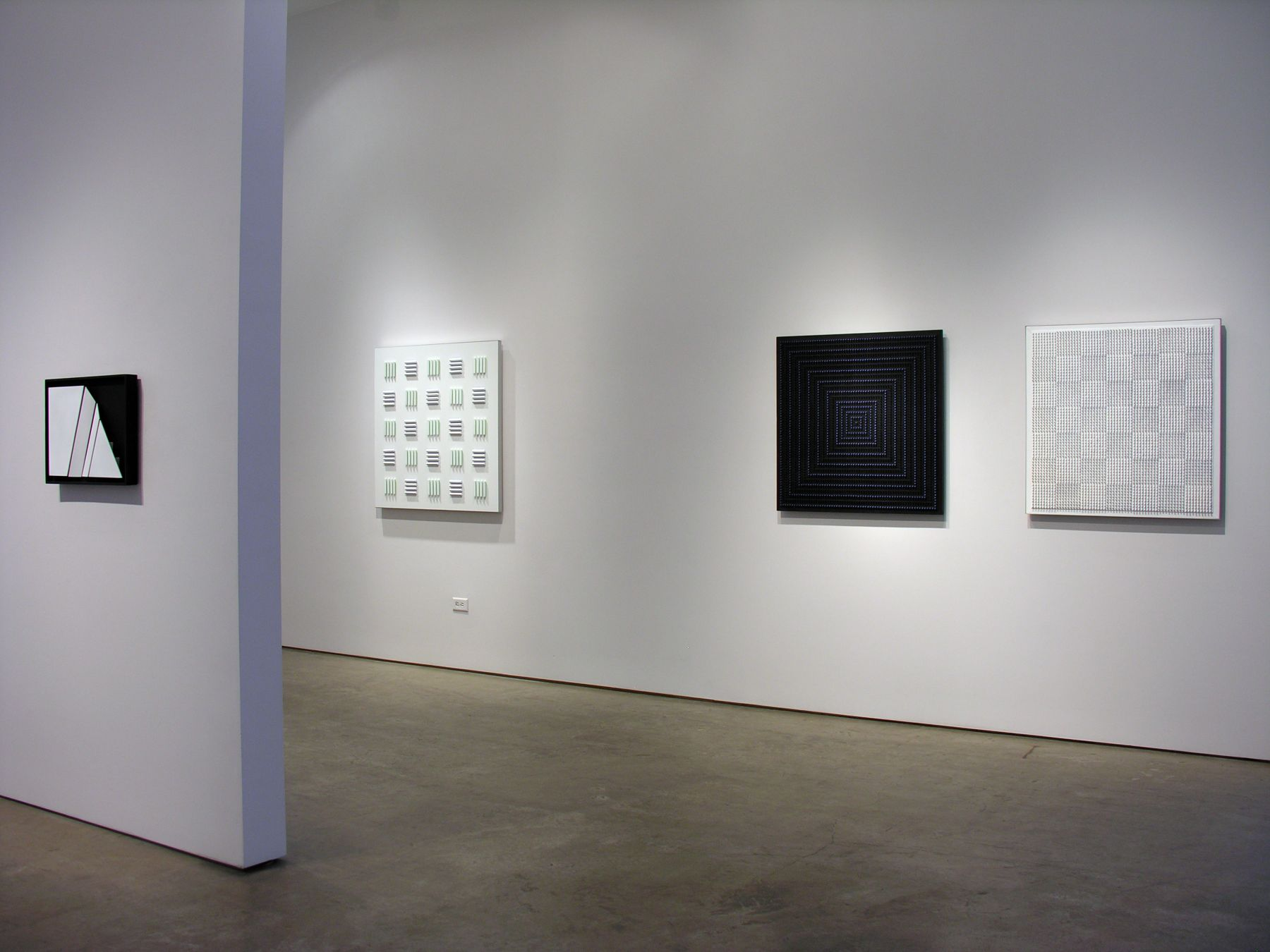 Luis Tomasello, Exhibition at Sicardi | Ayers | Bacino, 2009
