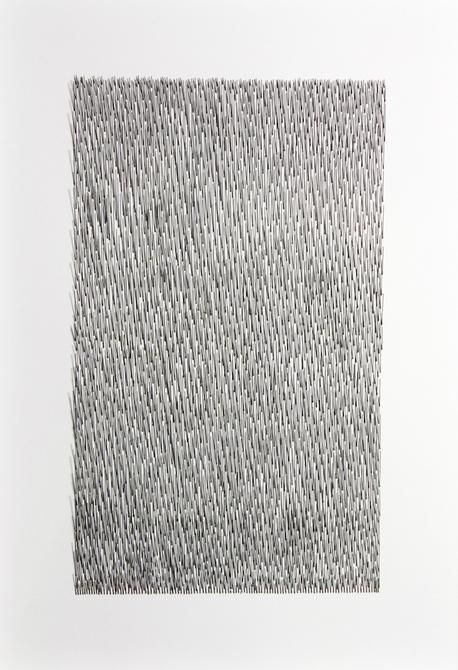 Mariano Dal Verme, Untitled, 2013. Graphite, paper, 29 in. x 21 in. x 2 in.