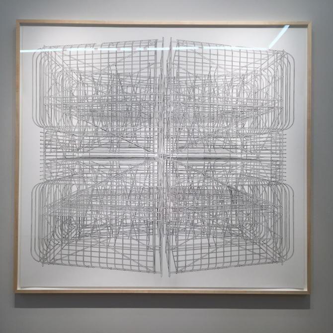 Exhibition, Pablo Siquier: Hostile, Installation view, 2016.