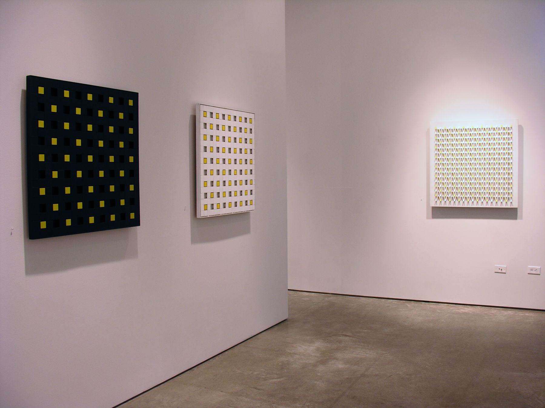 Luis Tomasello, Exhibition at Sicardi | Ayers | Bacino, 2007