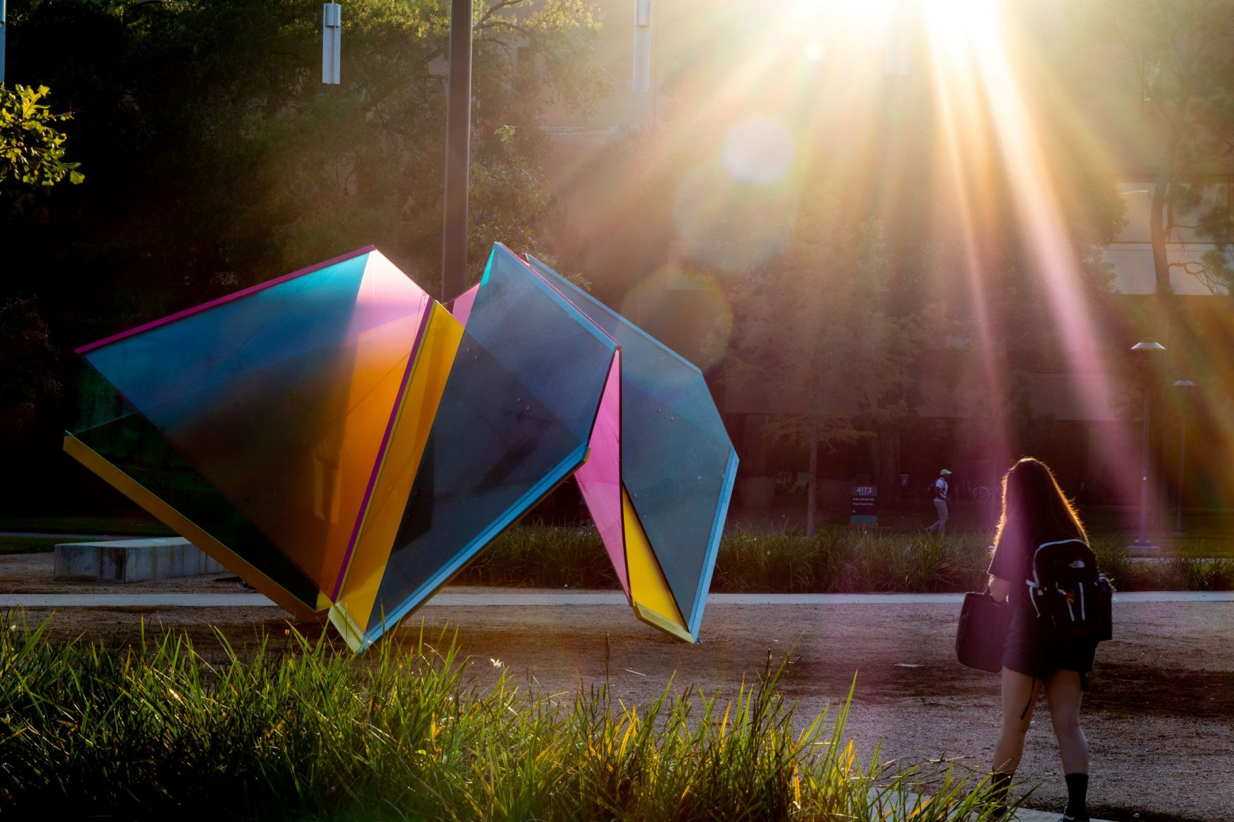 Marta Chilindrón, rendering forMobius Houston,2019. Installation project commissioned by the University of Houston Public Art System.