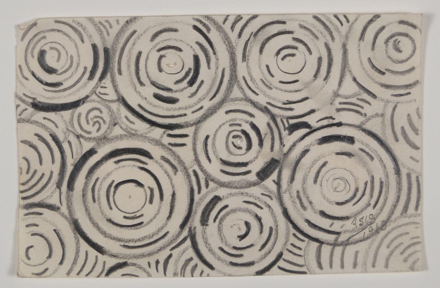 Antonio Asis,Untitled, 1960,Graphite on paper,3 1/2 x 5 7/16 in. (8.9 x 13.9 cm.)