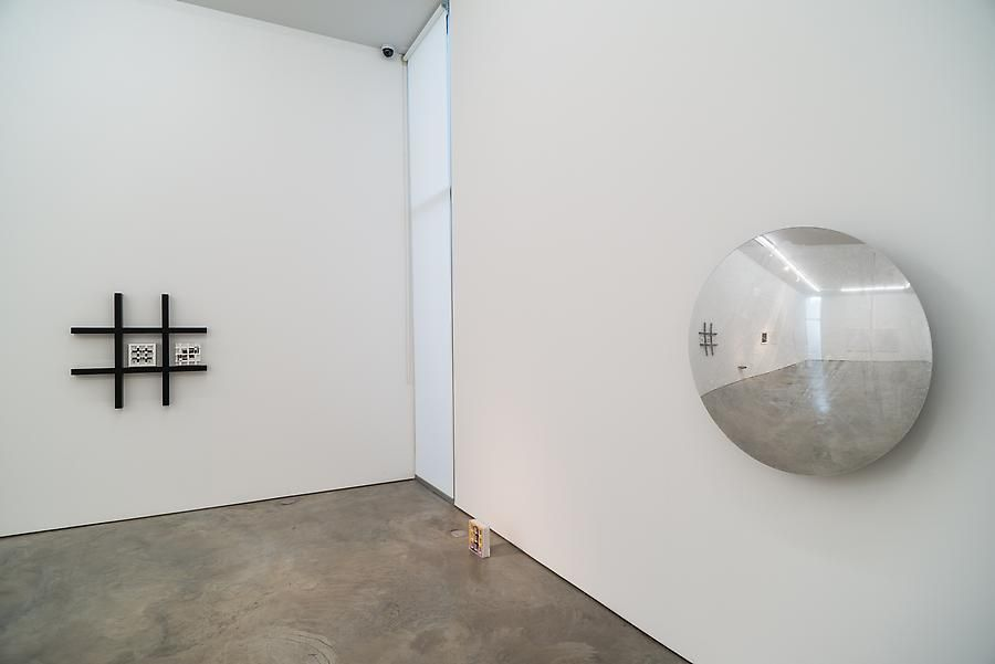 Marco Maggi, fanfold, Installation view, 2013.