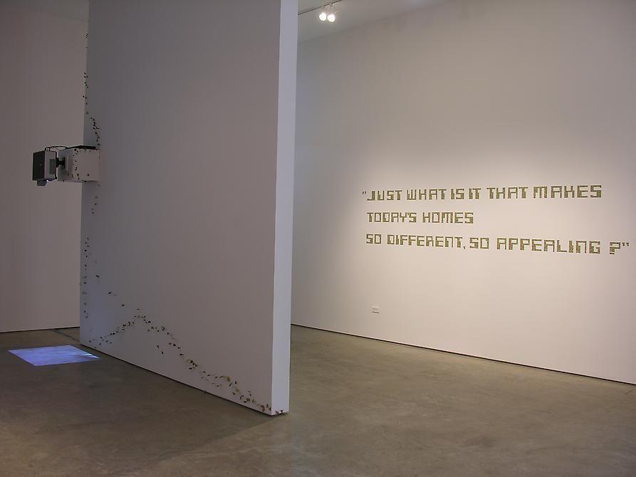 Miguel Angel Rojas, Sicardi Gallery installation view, 2008