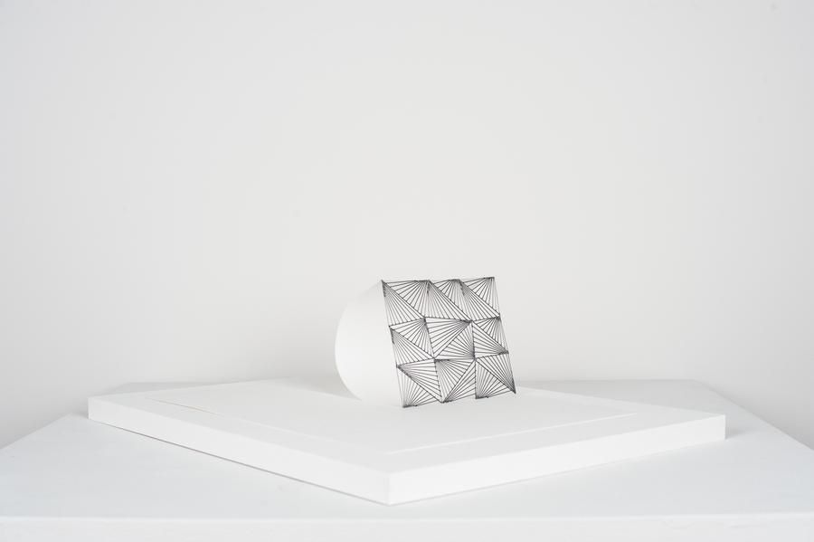 Mariano Dal Verme, Untitled, 2013. Graphite, paper, 4 in. x 9 3/4 in. x 13 3/4 in.