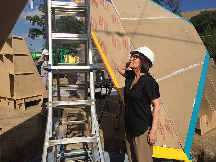 Marta Chilindrón,Mobius Houston,2019. University of Houston Public Art System.