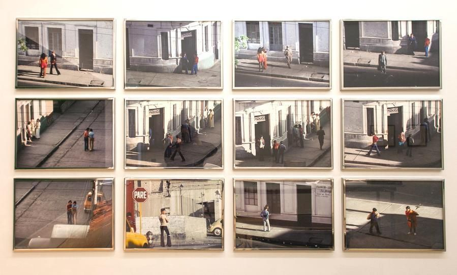 Miguel Ángel Rojas, La Esquina Rosada (Edition of 3 + 2AP), 1975/2015. Inkjet print from color transparency on 300 gr. Hahnemühle cotton papers, 23 5/8 x 15 3/4 in. / 60 x 40 cm. (each)