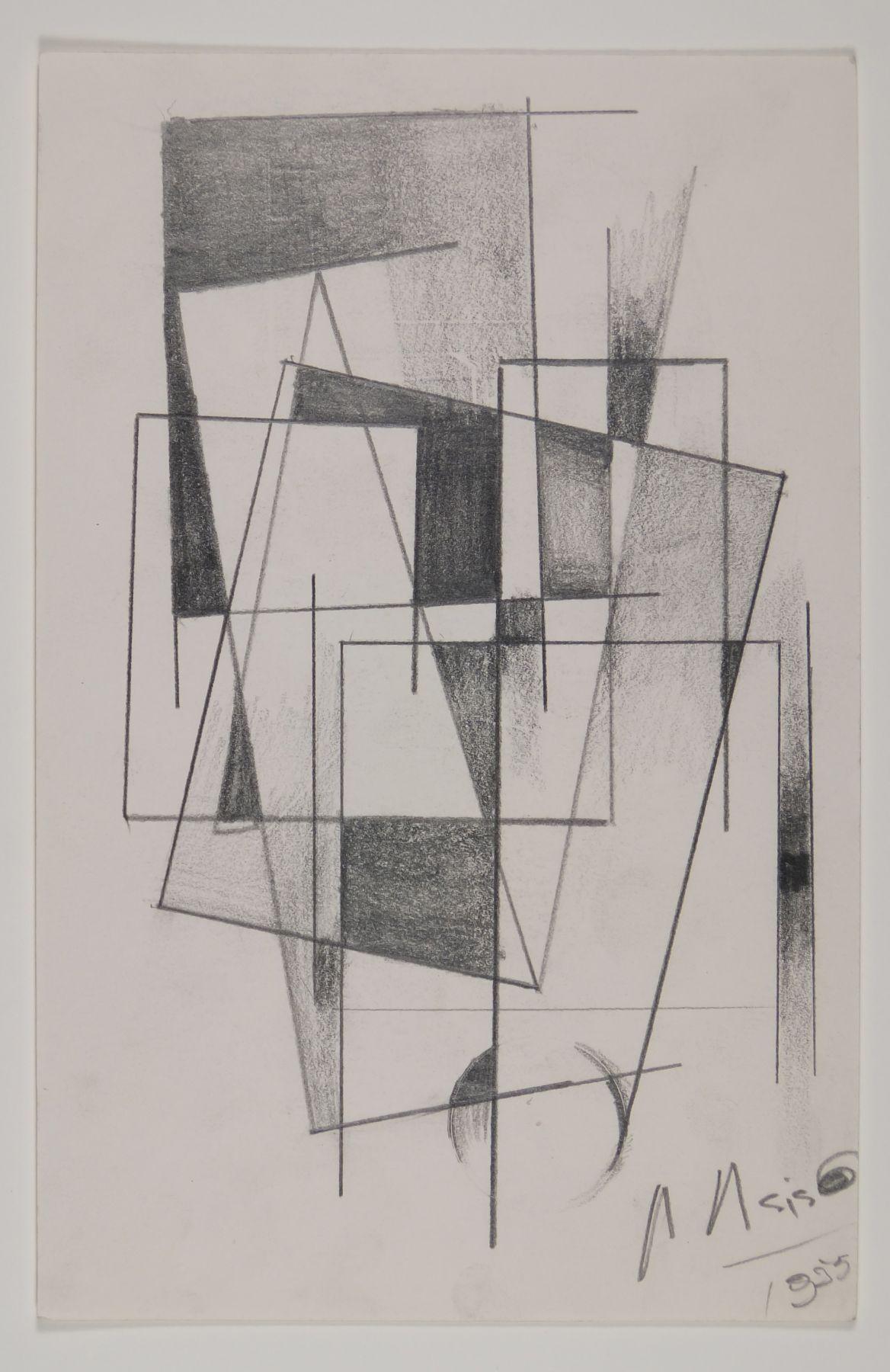 Antonio Asis, Untitled, 1955,Graphite on paper,8 1/4 x 5 5/16 in. (21 x 13.5 cm.)