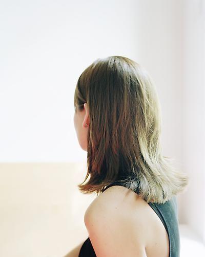 David Schoerner. Adrienne (After Gerhard Richter, Betty, 1988), 2009.
