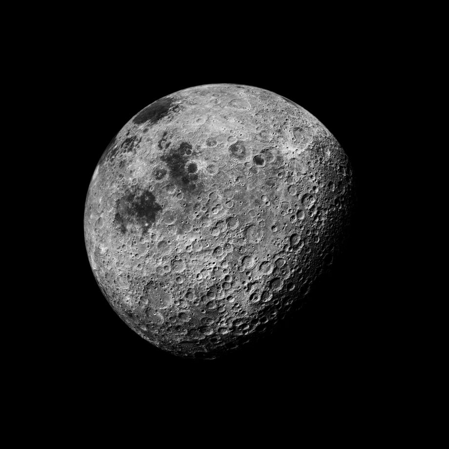 109 The Moon Seen From 1000 Miles, Showing