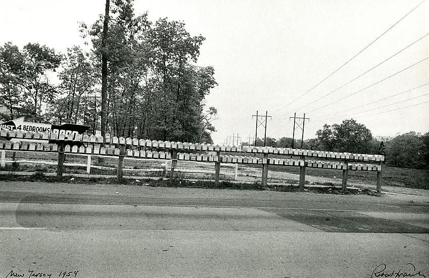 Mailboxes. New Jersey. 1954.