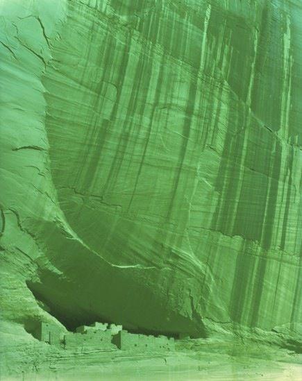 Canyon de Chelly. Chinle, Arizona, 2013, 37 x 29 inch c-print