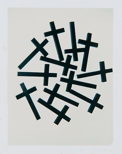 Crosses.