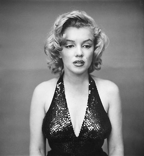 Richard Avedon. Marilyn Monroe, actor, New York, May 6, 1957.  1957 / printed 1970s.