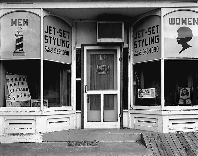 Jet-Set Styling Salon, Salem, NJ, 1980.