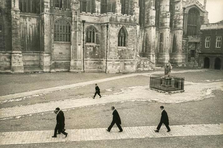 Henri Cartier-Bresson, Eton. 1962.