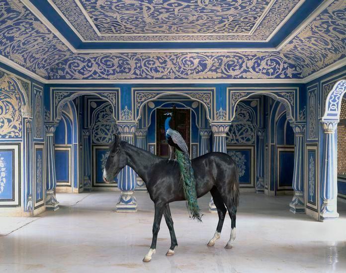 Sikander's Entrance, Chandra Mahal, Jaipur City Palace, Jaipur, 2013, 48 x 60 inch archival pigment print