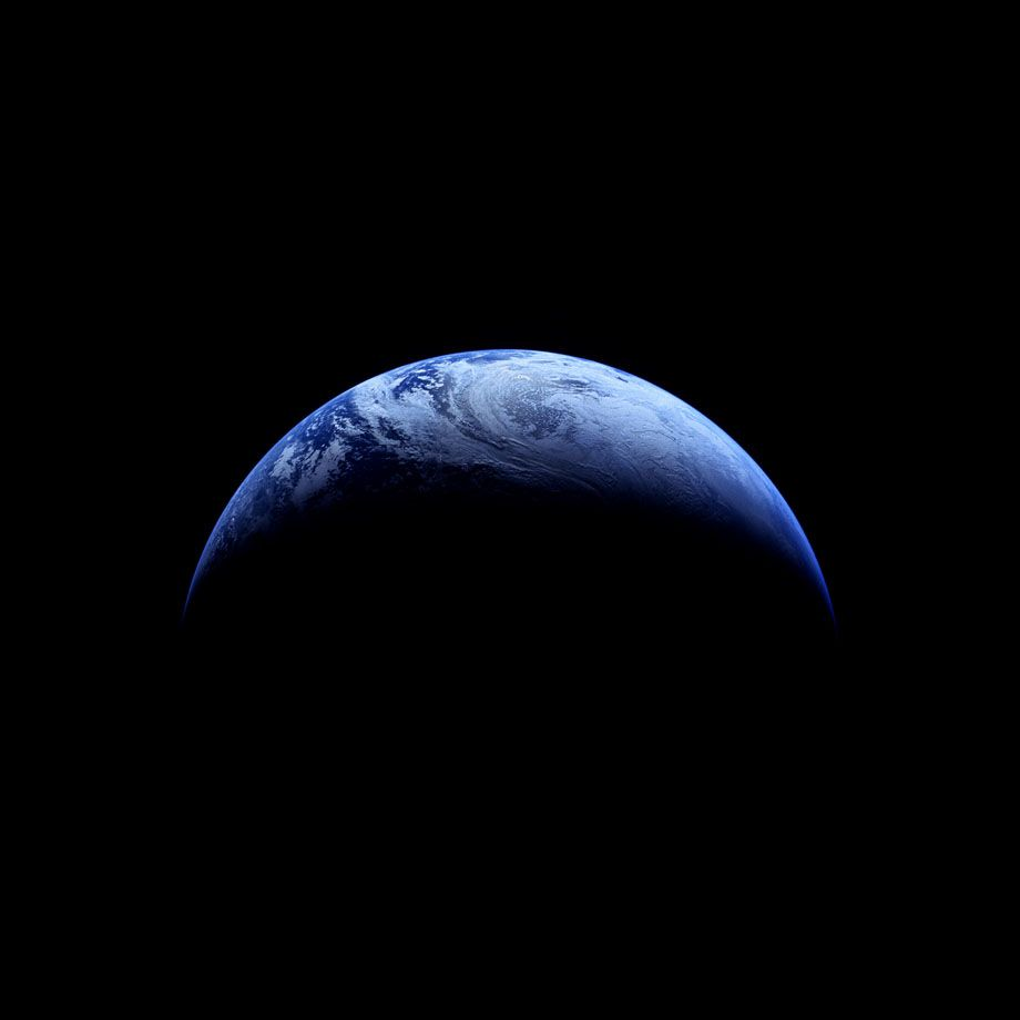 118 Crescent Earth; Photographed by Robotic