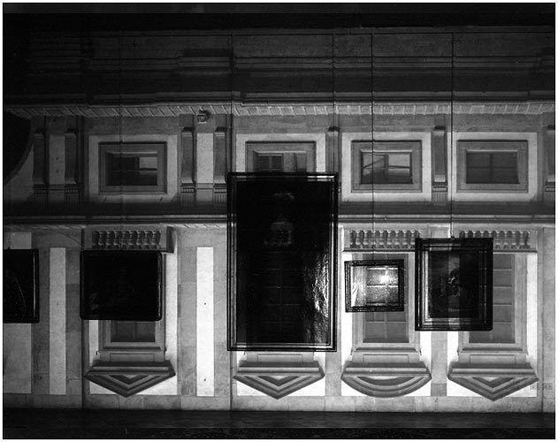 Uffizi Museum Windows, Florence, Italy, 2000.