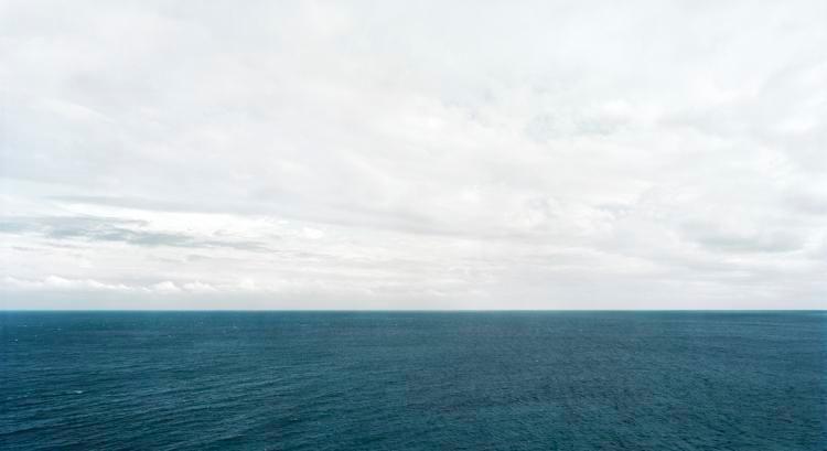 "Philippine Sea, 2010, 24 x 44"" C-Print"