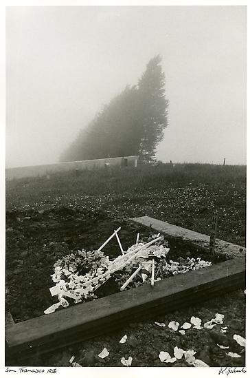 Cemetery. San Francisco. 1956.